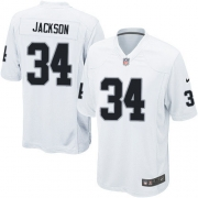 Youth Nike Oakland Raiders 34 Bo Jackson Limited White NFL Jersey