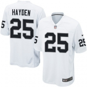 Youth Nike Oakland Raiders 25 D.J.Hayden Limited White NFL Jersey