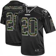 Men's Nike Oakland Raiders 20 Darren McFadden Limited Black Camo Fashion NFL Jersey