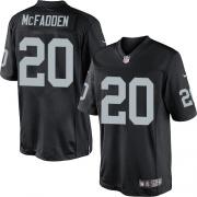 Men's Nike Oakland Raiders 20 Darren McFadden Limited Black Team Color NFL Jersey