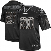 Men's Nike Oakland Raiders 20 Darren McFadden Limited New Lights Out Black NFL Jersey