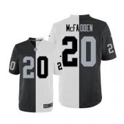 Men's Nike Oakland Raiders 20 Darren McFadden Limited Team/Road Two Tone NFL Jersey