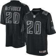 Youth Nike Oakland Raiders 20 Darren McFadden Elite Black Impact NFL Jersey