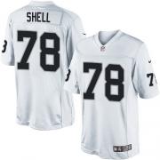 Men's Nike Oakland Raiders 78 Art Shell Limited White NFL Jersey