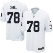 Men's Nike Oakland Raiders 78 Art Shell Game White NFL Jersey
