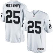 Men's Nike Oakland Raiders 25 Fred Biletnikoff Limited White NFL Jersey