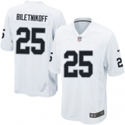 Youth Nike Oakland Raiders 25 Fred Biletnikoff Limited White NFL Jersey