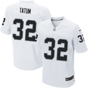 Men's Nike Oakland Raiders 32 Jack Tatum Elite White NFL Jersey