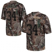 Men's Nike Oakland Raiders 34 Bo Jackson Elite Camo Realtree NFL Jersey