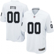 Youth Nike Oakland Raiders 0 Jim Otto Elite White NFL Jersey