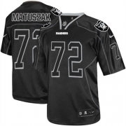 Men's Nike Oakland Raiders 72 John Matuszak Limited Lights Out Black NFL Jersey