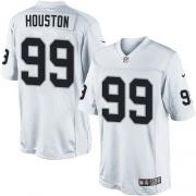 Men's Nike Oakland Raiders 99 Lamarr Houston Limited White NFL Jersey