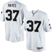 Men's Nike Oakland Raiders 37 Lester Hayes Limited White NFL Jersey