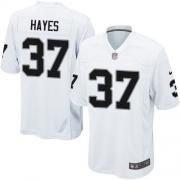 Youth Nike Oakland Raiders 37 Lester Hayes Elite White NFL Jersey