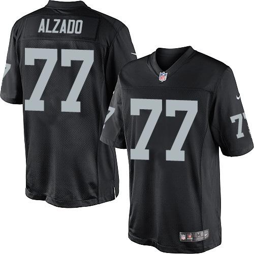 Men's Nike Oakland Raiders 77 Lyle Alzado Limited Black Team Color ...