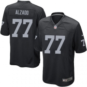 Youth Nike Oakland Raiders 77 Lyle Alzado Limited Black Team Color NFL Jersey