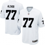 Youth Nike Oakland Raiders 77 Lyle Alzado Limited White NFL Jersey