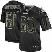 Men's Nike Oakland Raiders 60 Otis Sistrunk Elite Black Camo Fashion NFL Jersey