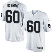 Men's Nike Oakland Raiders 60 Otis Sistrunk Limited White NFL Jersey