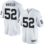 Men's Nike Oakland Raiders 52 Philip Wheeler Limited White NFL Jersey