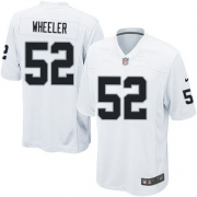Youth Nike Oakland Raiders 52 Philip Wheeler Limited White NFL Jersey