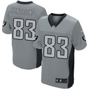 Men's Nike Oakland Raiders 83 Ted Hendricks Limited Grey Shadow NFL Jersey